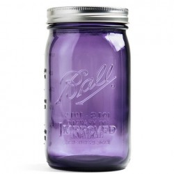 Ball Mason 950 ml Purple (32 oz) - Wide