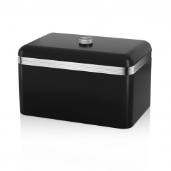 Retro Bread Bin BLACK SWKA1010BN SWAN